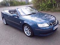 2007 07 SAAB 9-3 1.9Tid Diesel *Convertible* Anniversary Edition *Years Mot*F.S.H*Fully Serviced*