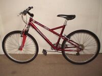 """Gents/Womens Giant Devil 18.5"""" Hardtail Mountain Bike (will deliver)"""