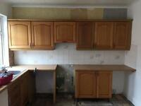 Used kitchen units