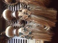 Horsehair curtain ties