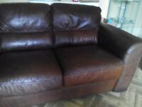 3 seatter leather sofa