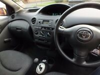 Toyota Yaris Auto - Very Low Mileage and new Gearbox