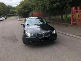 BMW E61 530d 2006 left hand drive (polish number plates)