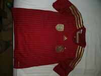 ADIDAS Spain Youth Football Shirt - Great Condition & Bargain Age 11 - 12