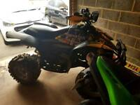 Polaris scrambler 500 quad swap