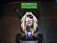 Nitro rc buggy with extra bits