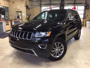 2014 Jeep Grand Cherokee LIMITED*TOIT OUVRANT*CUIR*GPS*4X4*CAMÉR
