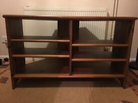 Good quality wooden tv storage unit All shelves are adjustable
