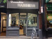 BARBER REQUIRED FOR CITY SALON