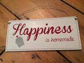 Homemade happiness shabby chic kitchen hanger