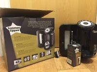 Tommee Tippee Perfect Prep Machine (Black) in excellent condition at 50% of the original value