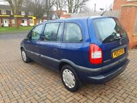 Vauxhall zafira 2003 1.6 facelift mint as new 7 seater px 320d 520d 525d 530d will add 1300 or more