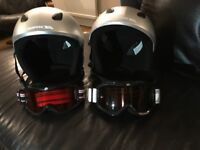 Kids Ski Helmets and Goggles