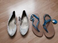 2x pair of shoes for £5 size 7