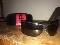 Police sunglasses in case