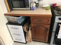 Solid wood Kitchen units
