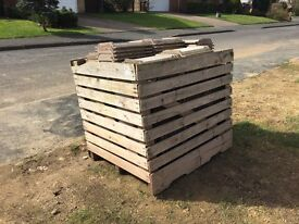 250 USED MARLEY WESSEX ROOF TILES