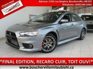 2015 Mitsubishi LANCER EVOLUTION GSR Final Edition*#197* CUIR, T