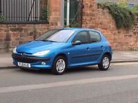 2001 Peugeot 206 1.4 GLX 5 Door Hatchback, Long MOT, Immaculate Condition!