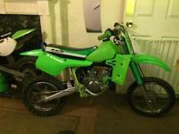Kawasaki kx60 Does as it Should,Clean n Tidy