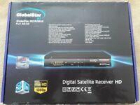 Globalstar Satellite receiver - HDMI, DISEq & USALS