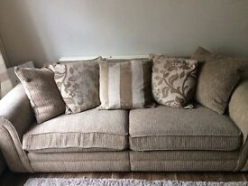 Four seater Furniture Village sofa