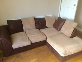 3 seater L Shape sofa for sale - Good condition