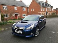 SUBARU LEGACY SE SPORTS TOURER 2.0 DIESEL --- 6 SPEED MANUAL --- SERVICE HISTORY --- FREE DELIVERY