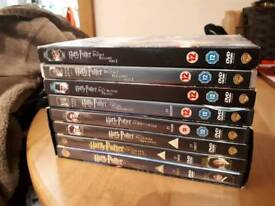 Harry Potter 8 DVDs