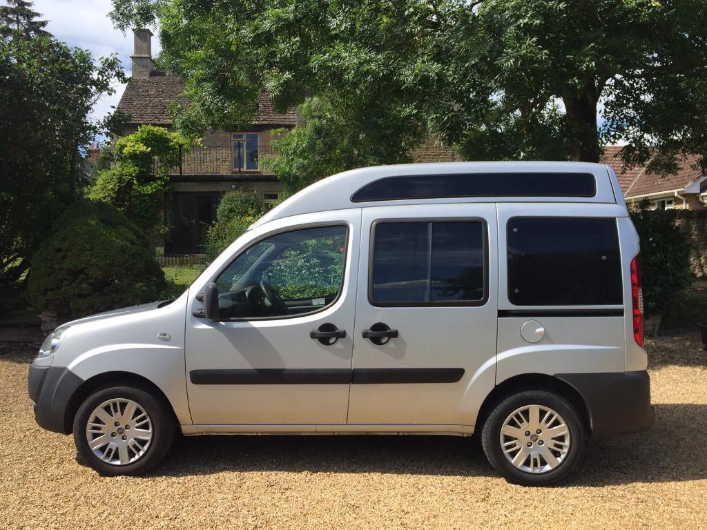 2008 Fiat Doblo Camper Van Motorhome Day Van In Bath