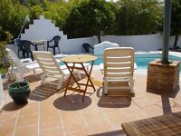 2 bedroom private cottage with pool and small garden, Orgiva, Las Alpujarras, Granada, Spain