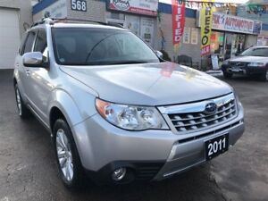 2011 Subaru Forester 2.5 X Limited Package w/Power Sunroof_Leath