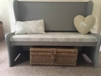 Shabby chic monks bench
