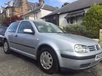 Golf 1.4 - low mileage, great condition for year