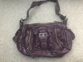 Next small plum bag