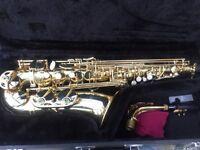 Creston Alto Full Size Student Saxophone