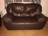 3+2 seater sofa leather