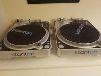 Stanton T80 Turntables