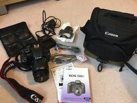 Canon DSLR 550d bundle - perfect condition, reduced price *£250*