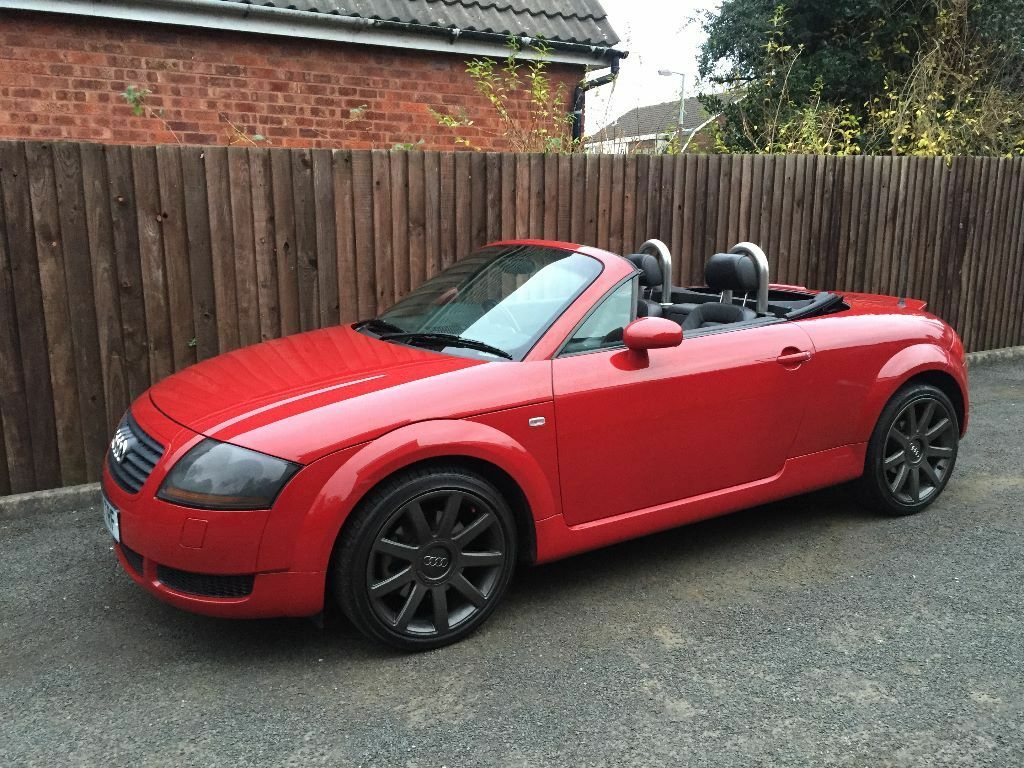 2000 audi tt 1 8 turbo 225 bhp convertible roadster red. Black Bedroom Furniture Sets. Home Design Ideas