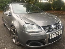 2006 VOLKWAGEN R32 V6 4 MOTION DSG (SUNROOF)+FULL VOSA HISTORY+81,000 MILES+EVERY EXTRA+LEATHERS!