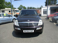 Ssangyong Rexton 2.7 TD RX 270 SX 5dr 2006 mot till 11th june 2019 drives excellent