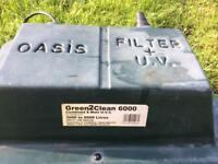 Oasis Biological Pond Filter UV green2clean 6000