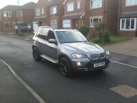 07 REG BMW X5 3.0D AUTO 5S SPORT-PACK 4X4 GREY 5DR 2-KEYS FSH 1-OWNER PAN-ROOF FREE-DELIVERY CHEAP