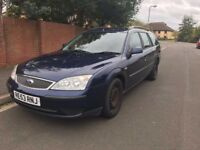 2004 Ford Mondeo Estate, 12 months MOT, nice family car!