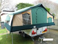 Conway Challenger Folding camper/trailer tent 2004