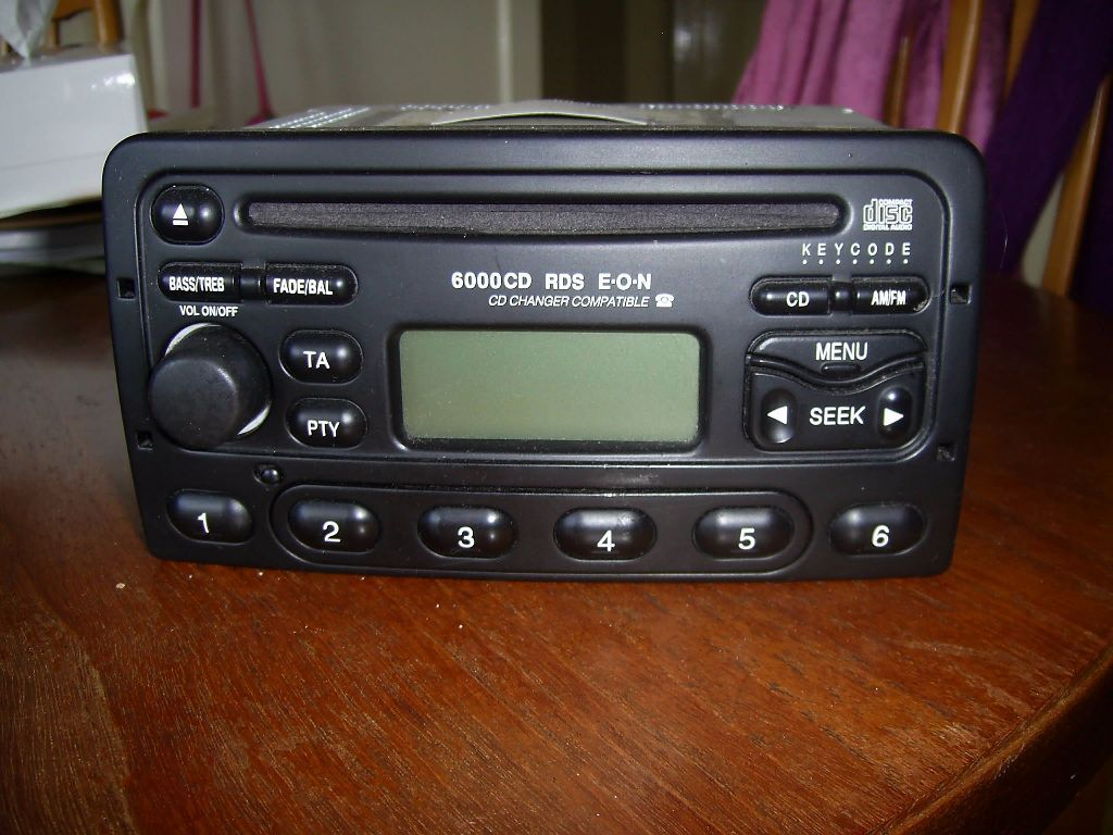 Ford 6000 cd codes | radio codes uk.