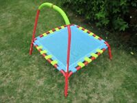 Mini Trampoline With Handle - Indoor Outdoor