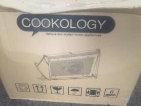 Cookology integrated cooker hood INT600SI Grey 60cm Built-in Extractor Fan