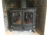 Wood Burner - Charnwood Island 3 - Top of the range, over £2000 new.